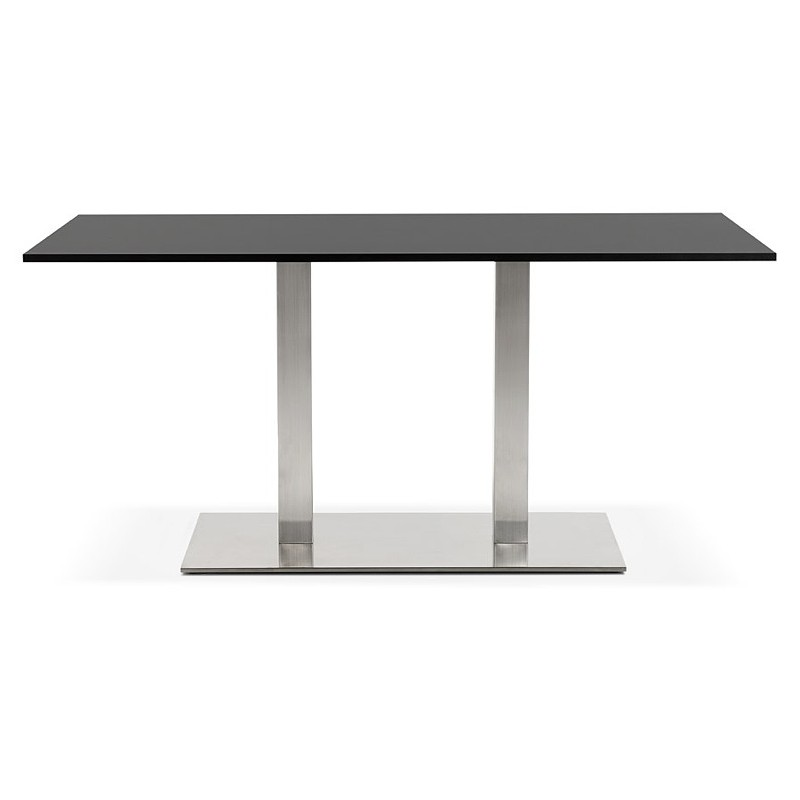 Table design or meeting table SOLÈNE (160 x 80 x 75 cm) (black) - image 39872