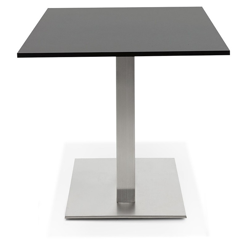 Table design or meeting table SOLÈNE (160 x 80 x 75 cm) (black) - image 39873