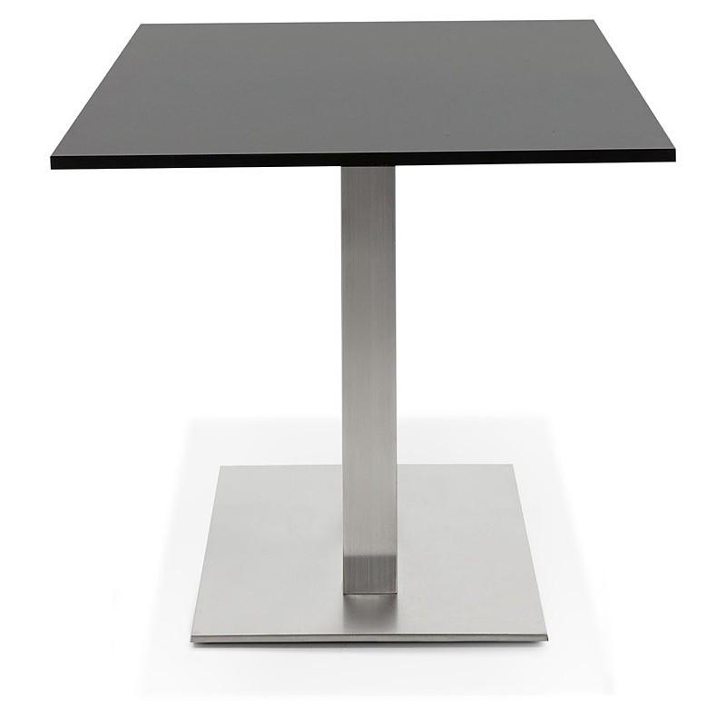 Table design or meeting table SOLÈNE (160 x 80 x 75 cm) (black) - image 39873