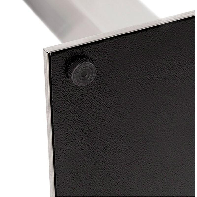 Design oder Meeting Tisch CORALIE (150 x 70 x 75 cm) (Esche schwarz Finish) - image 39910