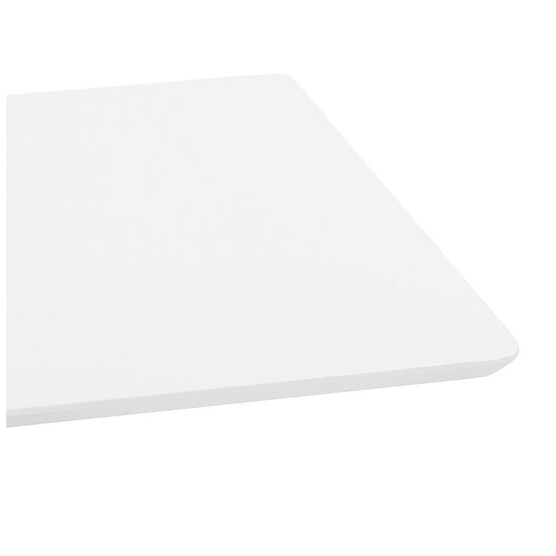 Table à manger design ou table de réunion CLAIRE (180x90x75 cm) (blanc) - image 39925