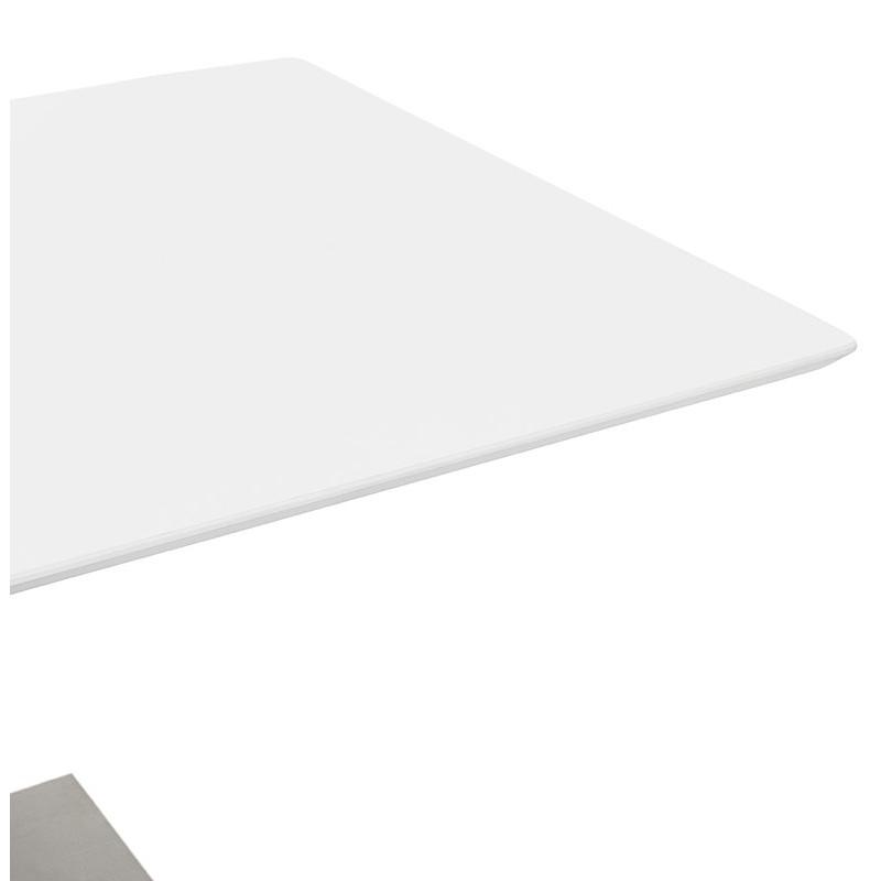 Table à manger design ou table de réunion CLAIRE (180x90x75 cm) (blanc) - image 39927