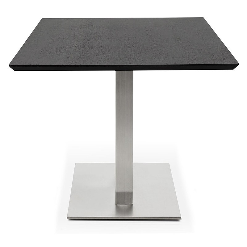Table design or table of meeting CLAIRE (180 x 90 x 75 cm) (black ash finish) - image 39942