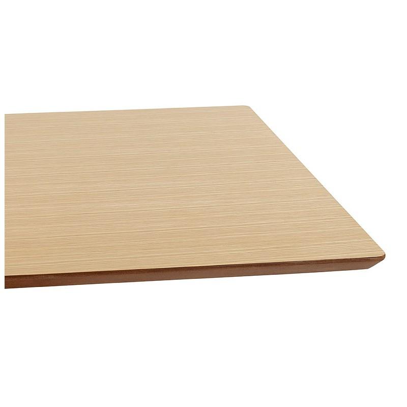 Table à manger design ou table de réunion CLAIRE (180x90x75 cm) (finition chêne naturel) - image 39954