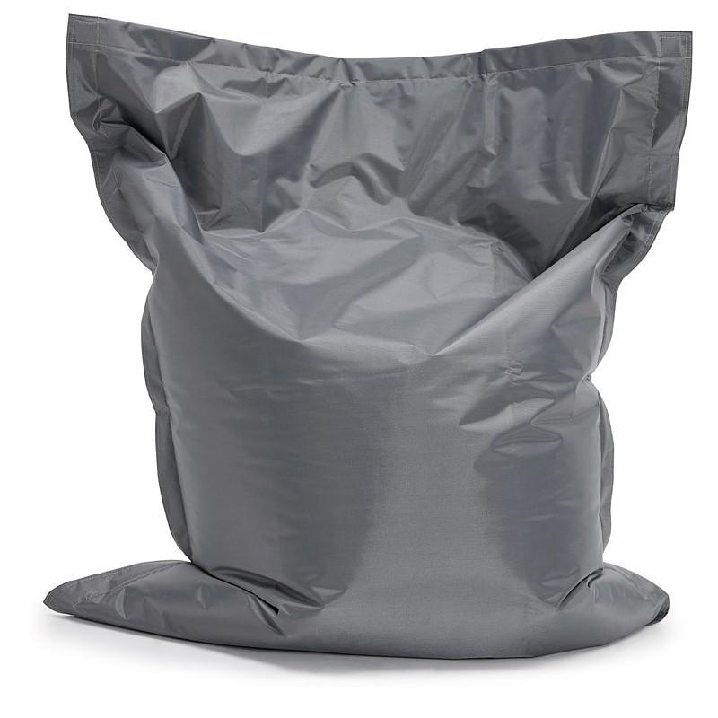 Pouf rectangulaire BUSE en textile (gris foncé) - image 39984