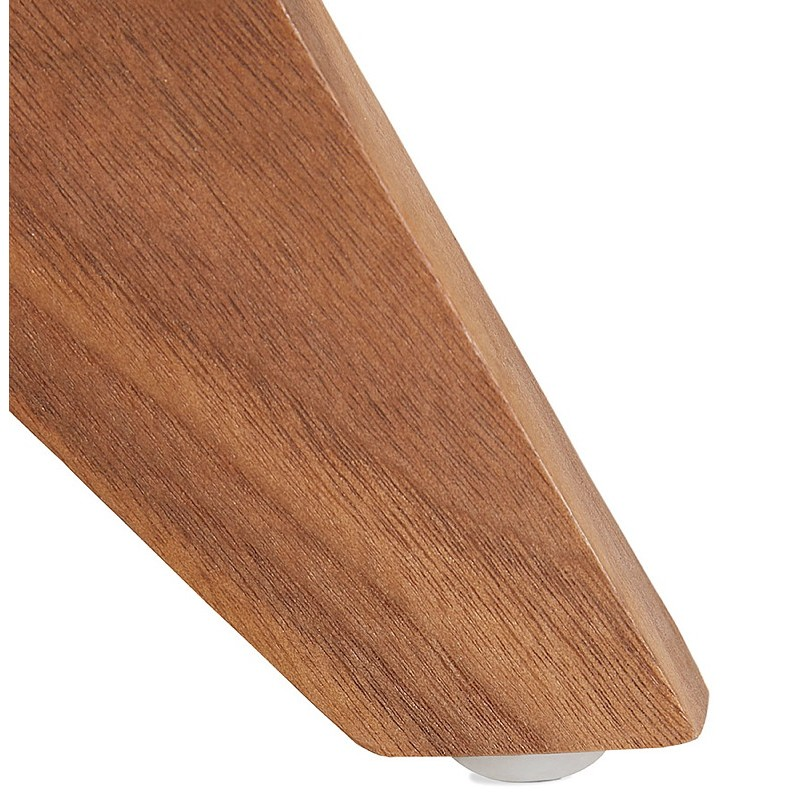 Buffet enfilade design et rétro 2 portes 3 tiroirs MELINA en bois (noyer) - image 40009