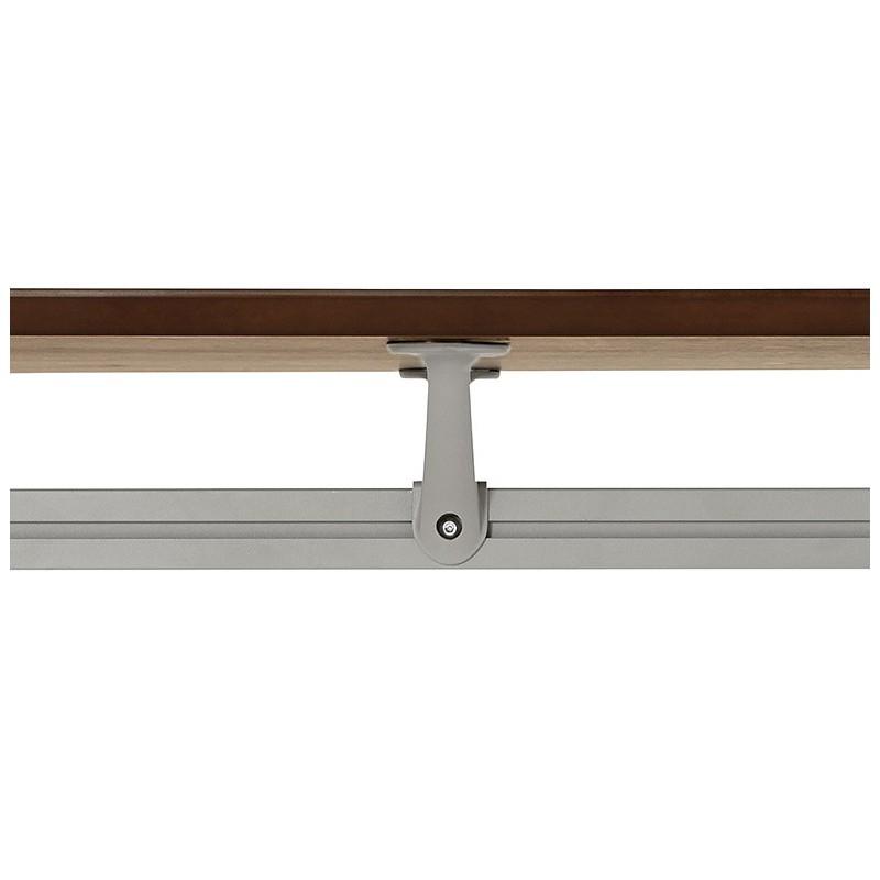 Bureau table de réunion moderne (90x180 cm) LAMA en bois plaqué noyer (noyer) - image 40134