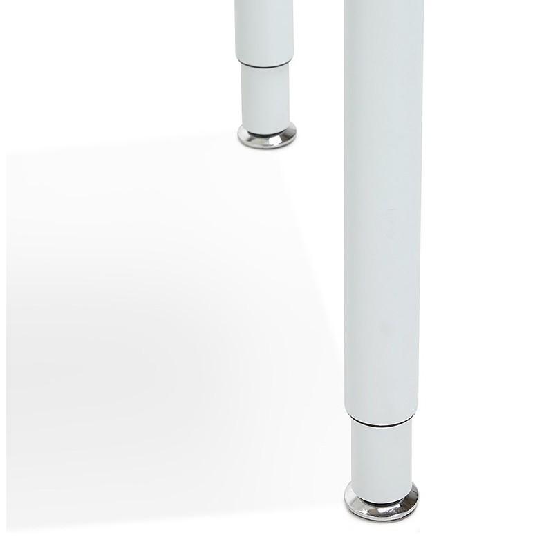 Bureau table de réunion moderne (80x160 cm) LORENZO en bois (blanc) - image 40162