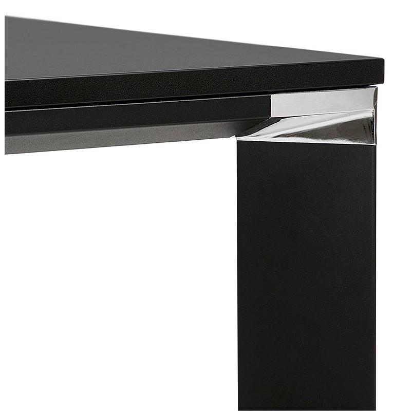 Bureau table de réunion moderne (140x140 cm) RICARDO en bois (noir) - image 40206