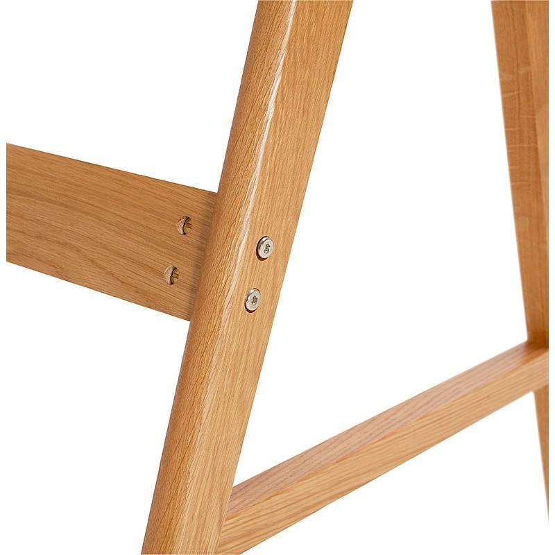 Bureau droit scandinave ELOISE en bois (blanc mat) - image 40226