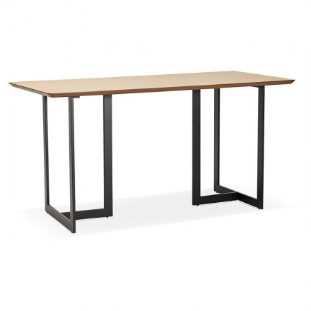 Table design or Office ESTEL (natural) wood (150 x 70 cm)