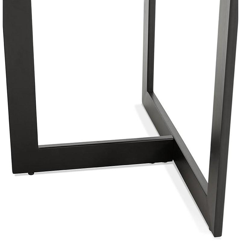 Table à manger design ou bureau (150x70 cm) ESTEL en bois (finition noyer) - image 40363