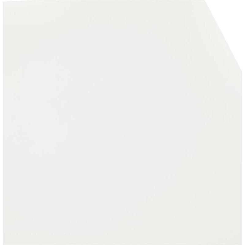Table à manger design ou bureau (150x70 cm) ESTEL en bois (blanc mat) - image 40370