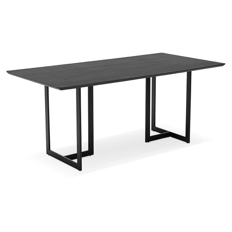 Table Design Or 180 X 90 Cm Douglas Wooden Desk Black Design And Contemporary Desks