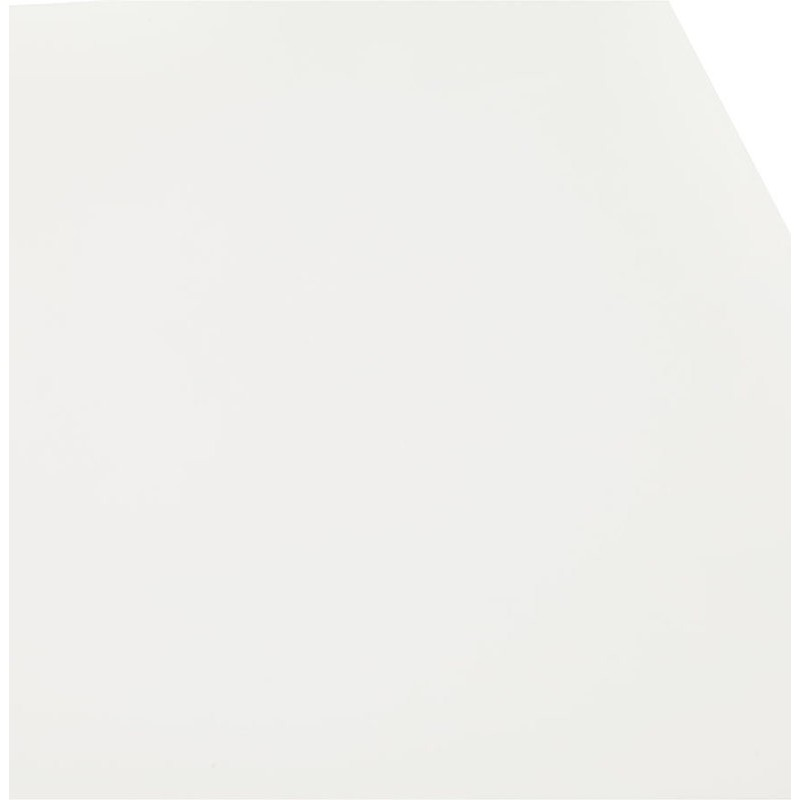 Table à manger design ou bureau (180x90 cm) DRISS en bois (blanc mat) - image 40411