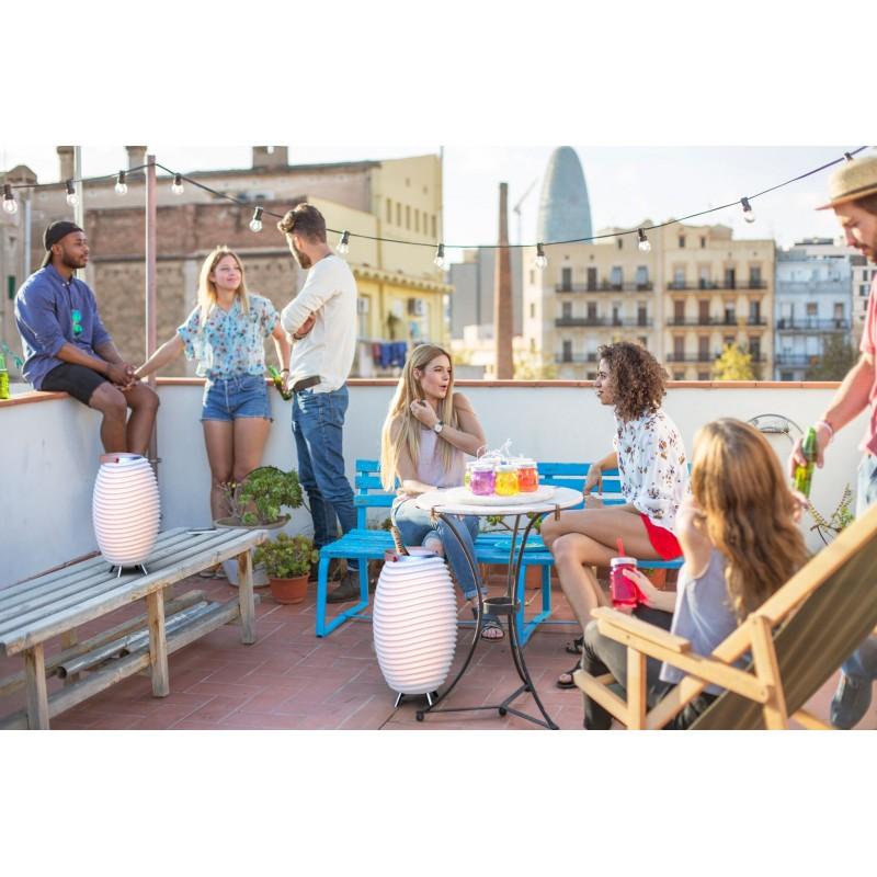 Lamp LED bucket champagne pregnant speaker bluetooth KOODUU synergy S 35 (white) - image 40455