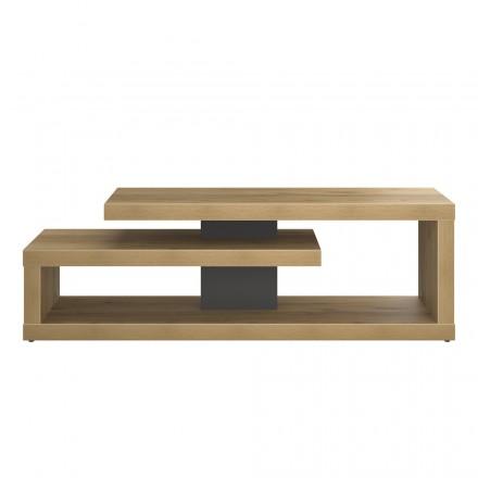 Mobili di design TV e contemporanea ALISON in legno (rovere)