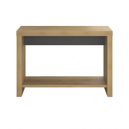 Console design and contemporary ALISON wooden (oak) on
