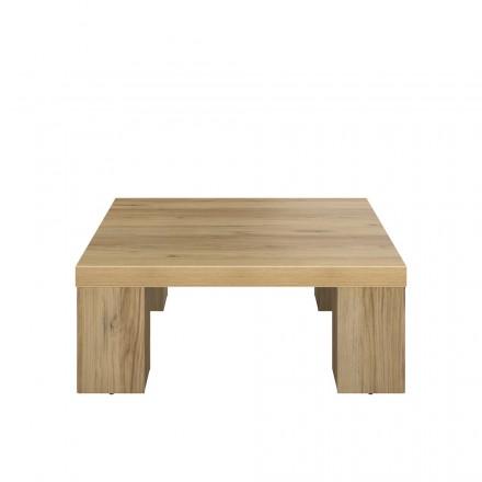 Tavolino da salotto contemporaneo ALISON in legno (rovere)