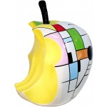 Resina estatua escultura decorativa diseño Apple Estoy H72cm (multicolor)