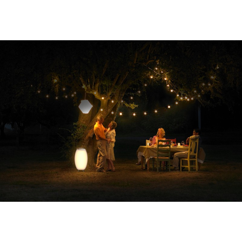 Lampe LED seau à champagne haut-parleur enceinte bluetooth KOODUU SYNERGIE 50 (blanc) - image 40963