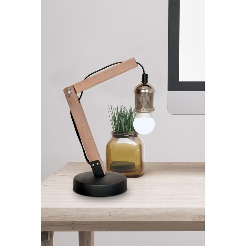 Lampe de table architecte industriel HARRY (argent) - image 40992
