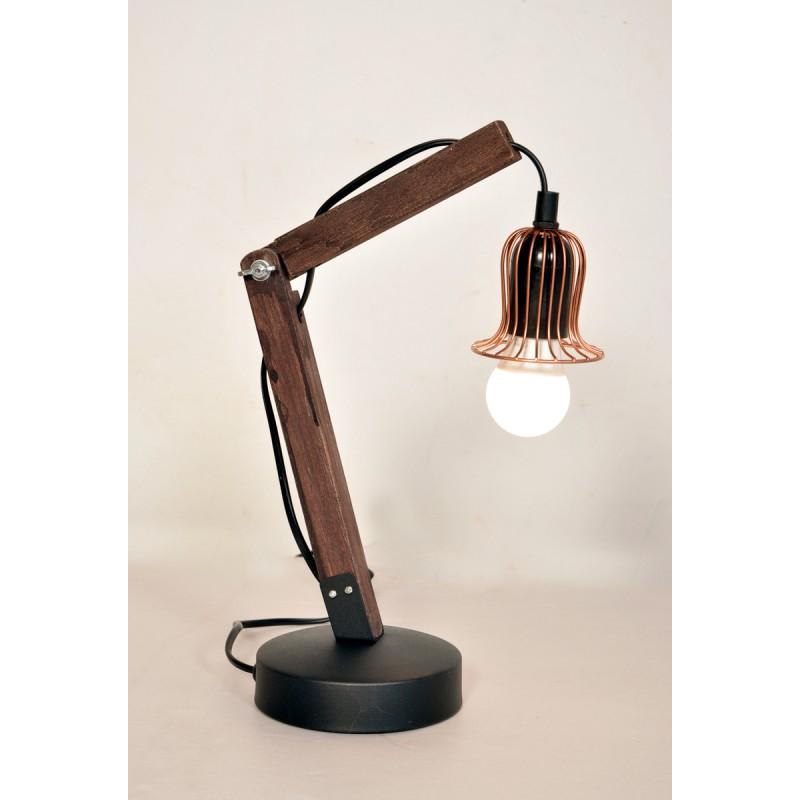 Lampe de table architecte industriel HARRY (cuivre) - image 40993
