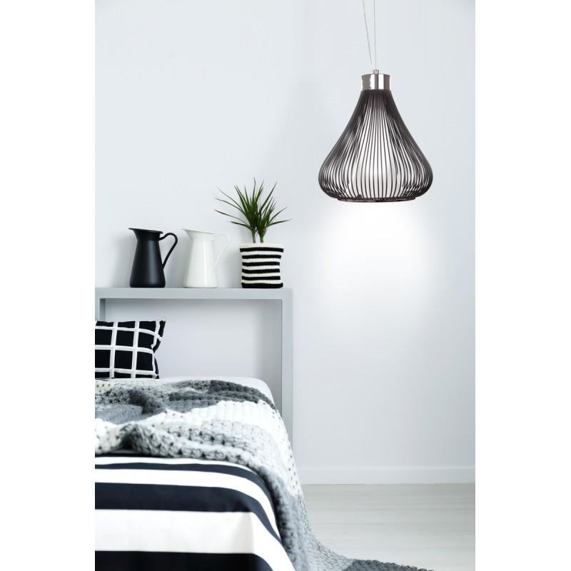 Lampe à suspension design en métal  TIFFANY (noir) - image 41051