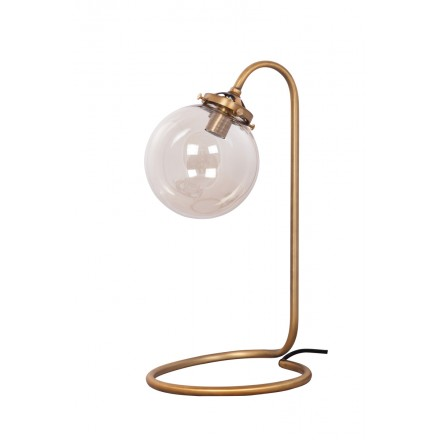 Industrial metal (copper) Bell table lamp