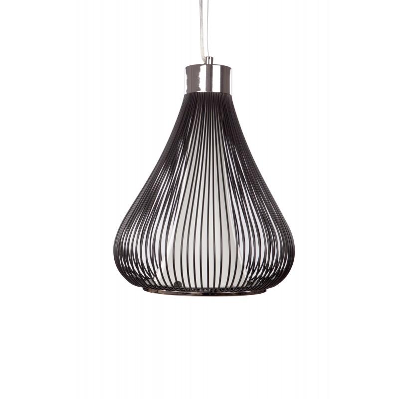 Lampe à suspension design en métal  TIFFANY (noir) - image 41161