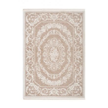 SAN MARINO rectangular oriental rug woven machine (Beige)