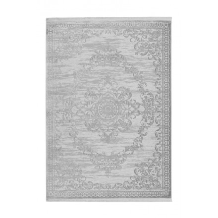 Oriental rug rectangular WHIUCH woven machine (grey)