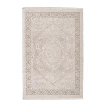 Oriental rug rectangular AJACCIO woven machine (Beige)