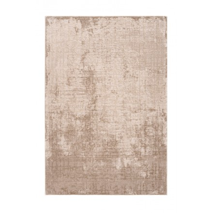 Oriental rug rectangular BASTIA woven machine (Beige)