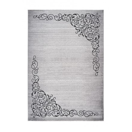 Oriental rug rectangular SAFI woven machine (grey)