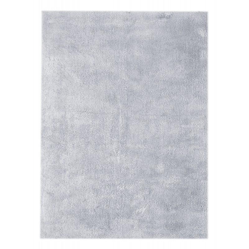Tapis design et contemporain BALI rectangulaire fait main (Bleu Gris) - image 41407