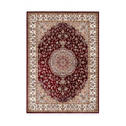 Oriental rug rectangular Moroccan woven machine (red)