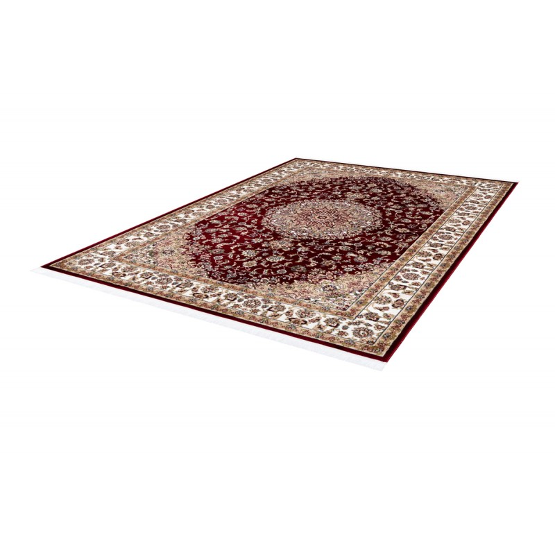 Tapis oriental MAROCO rectangulaire tissé à la machine (Rouge) - image 41450