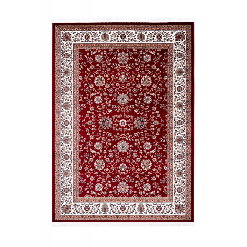 Oriental rug rectangular OUJDA woven machine (red) - image 41457