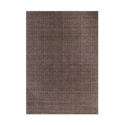 Tapis design et contemporain CAMBODGE rectangulaire fait main (Taupe)