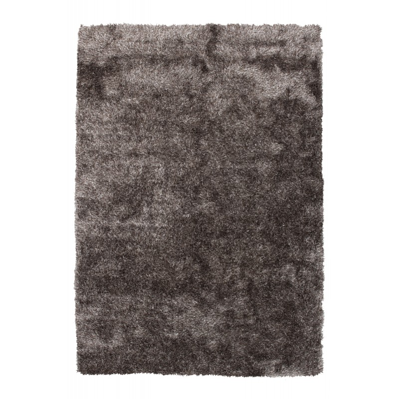 Tapis design et contemporain MIAMI rectangulaire fait main (Gris) - image 41504