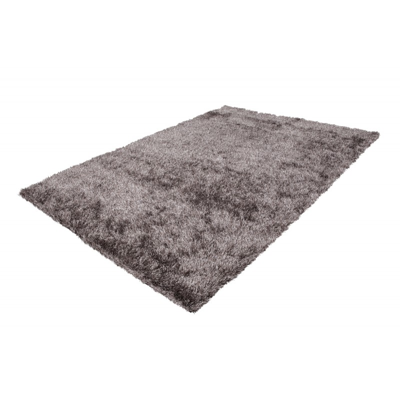 Tapis design et contemporain MIAMI rectangulaire fait main (Gris) - image 41507