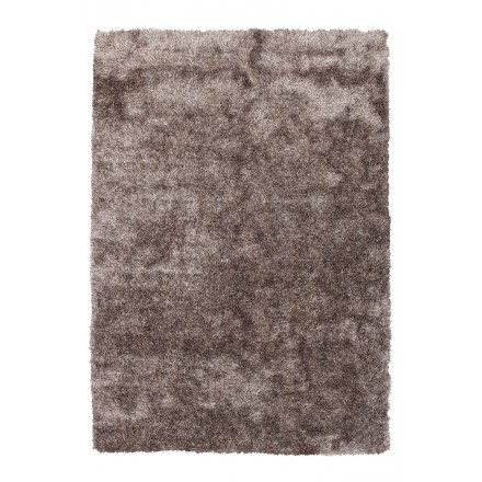 Tapis design et contemporain MIAMI rectangulaire fait main (Taupe)