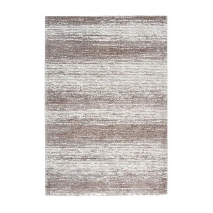 Vintage Palermo rectangular carpet woven to the machine (grey Beige)