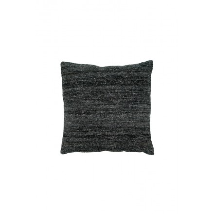 SEATTLE square cushion woven machine (charcoal gray)