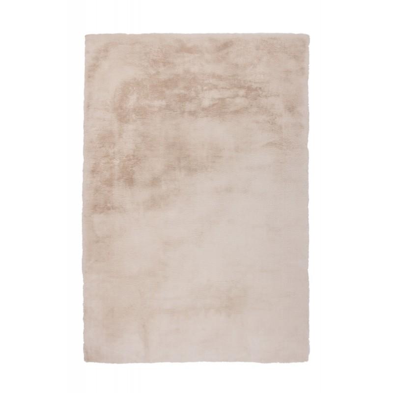 Tapis contemporain tufté à la main RABBIT rectangulaire tufté à la main (Crème) - image 41898