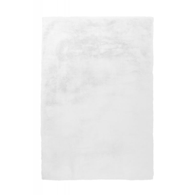 Tapis contemporain tufté à la main RABBIT rectangulaire tufté à la main (Blanc) - image 41910