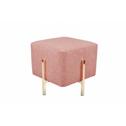 Pouf design ELONA (pink gold)