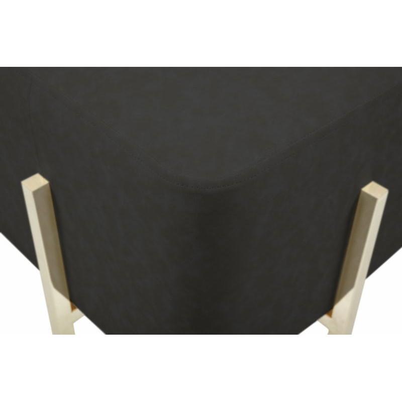 Pouf design ELONA (Noir gris doré) - image 41984