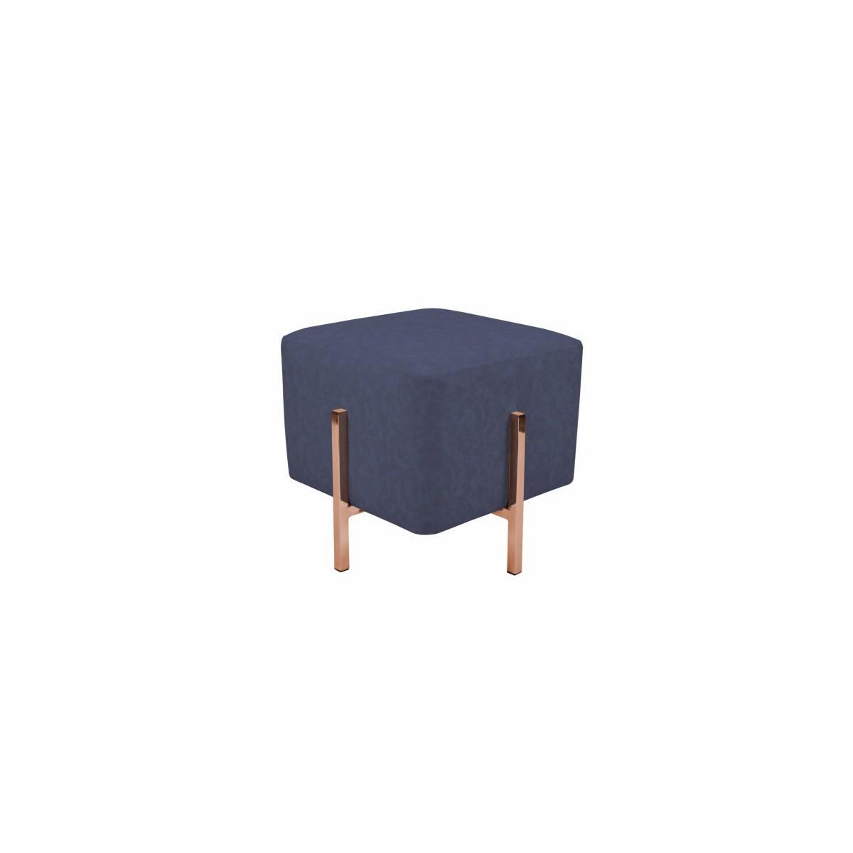 Pouf Design Lyson Blue Copper Amp Story 6144